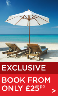 Exclusive holidays only at Barrhead Travel
