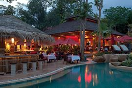 Thailand Holidays - Amazing Koh-Samui Holiday Deals - Rocky's Boutique Resort - bistro-by-pool