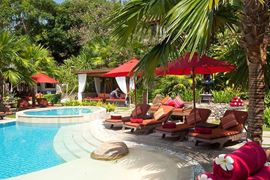 Thailand Holidays - Amazing Koh-Samui Holiday Deals - Rocky's Boutique Resort - lush loungers