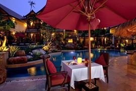 Thailand Holidays - Amazing Koh-Samui Holiday Deals - Rocky's Boutique Resort -pool-dining