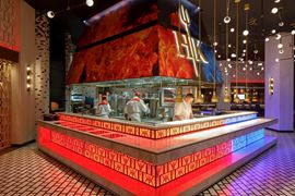 Middle East Holidays - UAE, Dubai - Caesars Resort Bluewaters - Hell's Kitchen interior