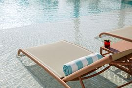 Middle East Holidays - UAE, Dubai - Caesars Resort Bluewaters - pool Sunbed