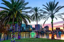Florida Holiday Destinations - Orlando Holidays Skyline View