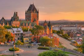 Canada Holidays - Frontenac Castle in Old Quebec City