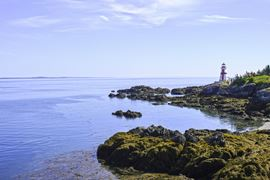 Canada Holidays - New Brunswick - Campobello Island Lighthouse