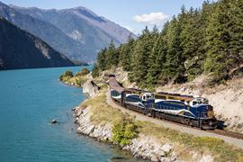 Canada Holidays - Rocky Mountaineer train Close-up