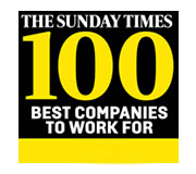 Sunday Times Best 100 Companies to work for