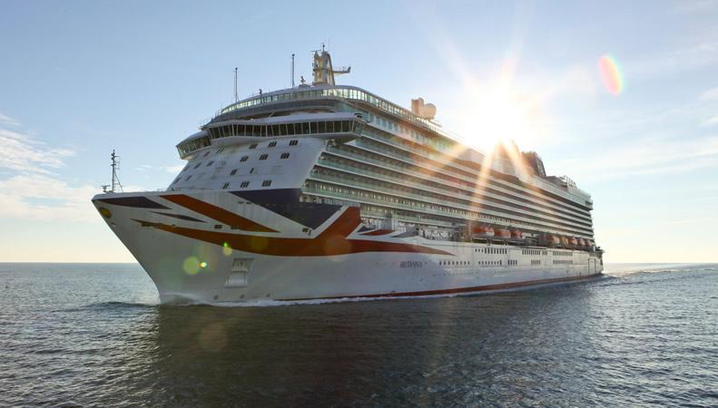 PampO Britannia  PampO Cruises  2017  2018
