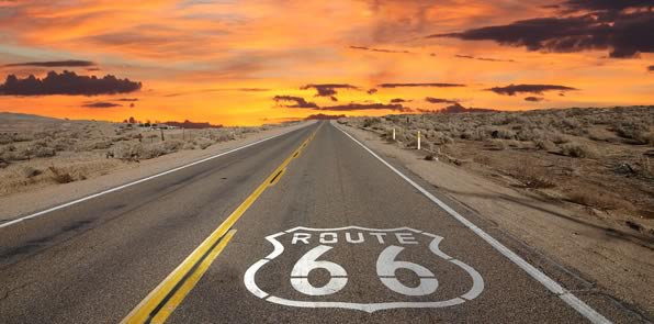 Route 66 by Rail