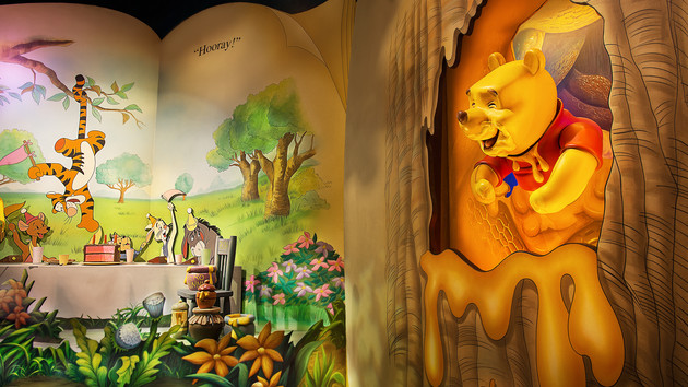 Hotel Room Service Winnie The Pooh