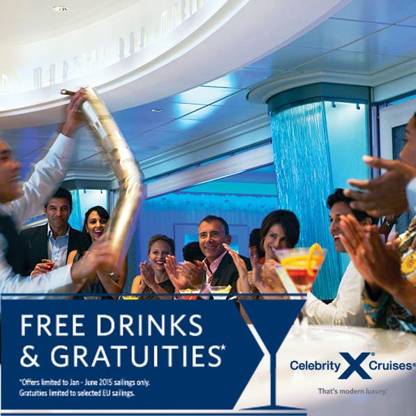 Drinks price list on celebrity cruises