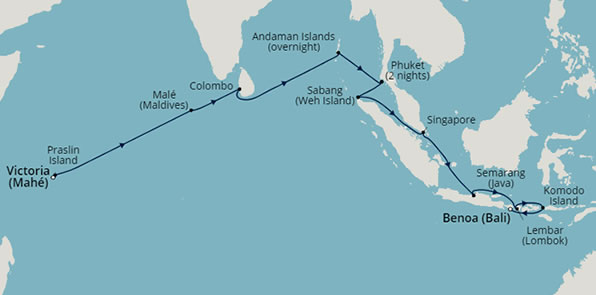 Tropical archipelagos of asia barrhead travel seabourn encore gumiabroncs Images