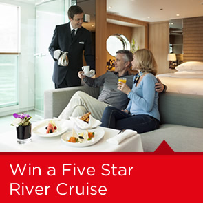 Win a fantastic 5 star River Cruise online today